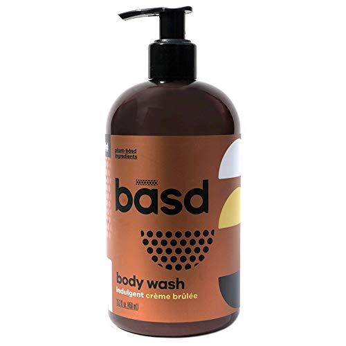Basd | Organic Moisturizing Body Wash | Indulgent Crème Brulee | Natural Skin Care | Aloe Vera | Green Tea | 15.2 oz Bottle