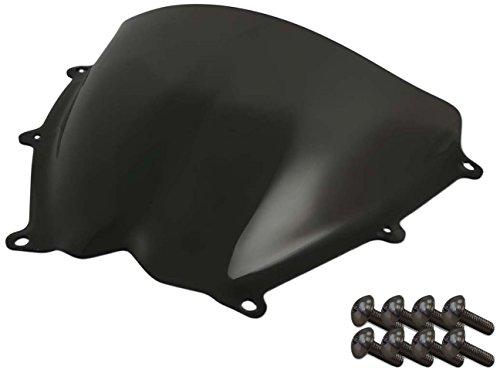 Sportbike Windscreens ADSW-207DS Dark Smoke Windscreen (Suzuki Gsxr 1000 (07-08) With Silver screw kit), 2 Pack