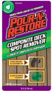 COMPOSITE DECK SPOT RMVR by POUR-N-RESTORE MfrPartNo PNRDK32OZ - Deck Clean