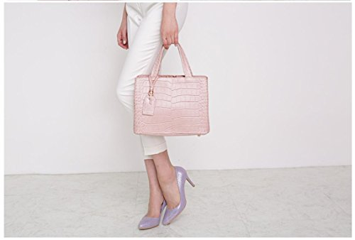 Bellina Wani Tote Shoulder Bag BB1218 (Pink) by Pristine&BB (Image #5)