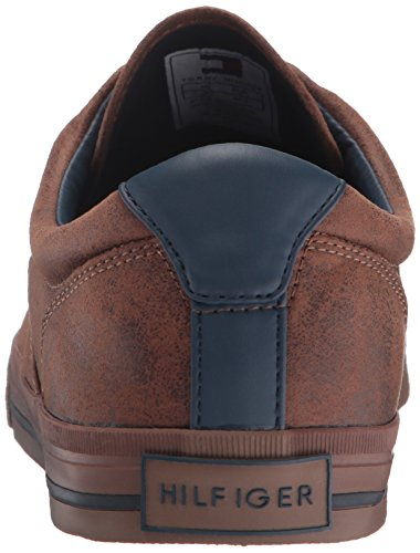 Tommy Hilfiger Mens Phelipo 2 Fashion Sneaker, Cognac, 7.5 M Us