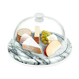 Aroma Bakeware Cheese Dome With Marble Base Plate (Marble)