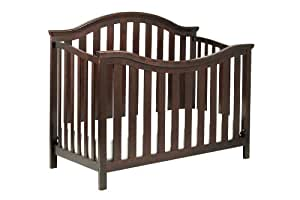 DaVinci Goodwin 4-in-1 Convertible Crib with Toddler Rail, Espresso (Discontinued by Manufacturer)