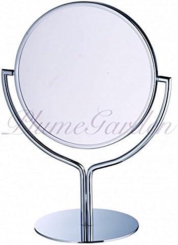 卓上鏡 プルーマ チューリップ 3倍の拡大鏡 高級な卓上ミラー クローム加工 ギフトにおすすめ