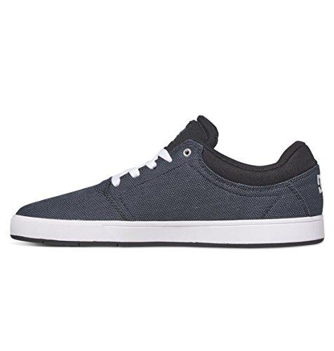 DC Junge Männer Crisis Tx Se Lowtop Schuhe, EUR: 45.5, Black Dark Used