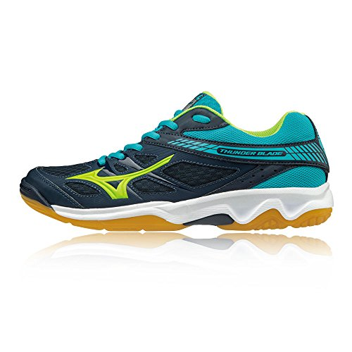 Mizuno Men's Thunder Blade Volleyball Shoes, Green Green