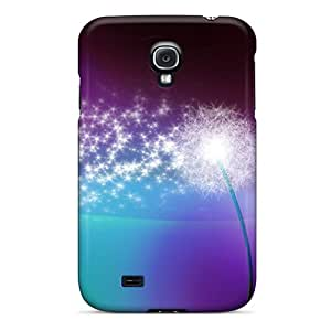 Durable Defender Case For Galaxy S4 Tpu Cover(dandelion)