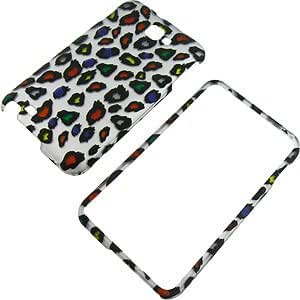 Rainbow Leopard Protector Case for Samsung Galaxy Note (GT-N7000 & i717)