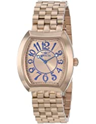 Invicta Womens 15042 Angel Analog Display Japanese Quartz Rose Gold Watch