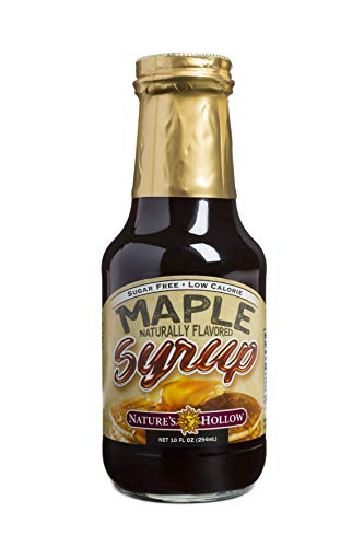 Nature's Hollow Sugar-Free Maple Flavored Syrup, 10 - Toast French Wheat Whole