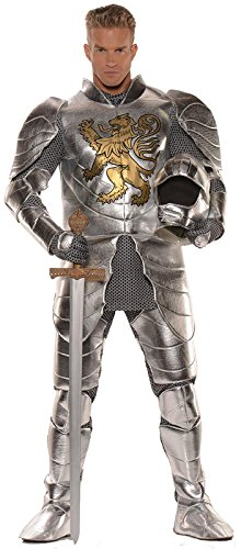 Knight in Shining Armor Mens Costume, (Mens Knight In Shining Armor Costumes)