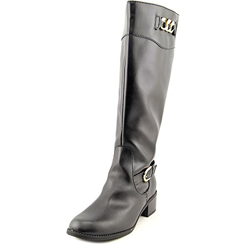 Karen Scott Darlaa Wide Calf Women US 7.5 Black Knee High Boot