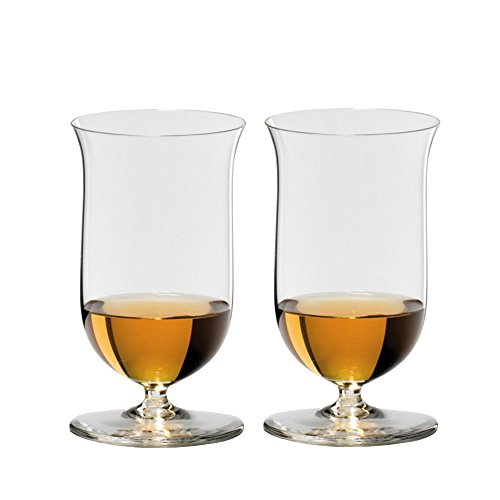 Riedel Sommeliers 7 Ounce Single Malt Whisky Bar Glass, Set of 2 Sommeliers Single