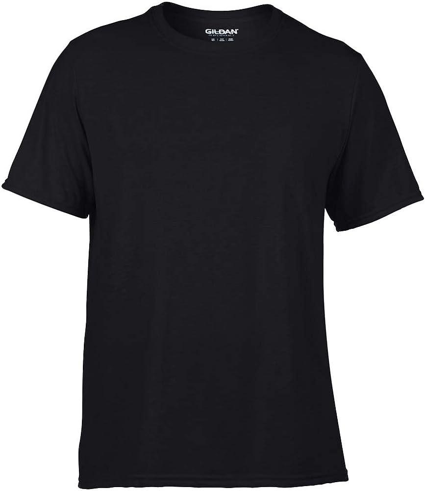 Gildan dünnes Herren T-Shirt Performance Fitness Sport Adult Core 46000 NEU