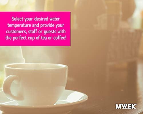 MYLEK Digital Catering Urn 20L - 80 Cup - Stainless Steel Water Boiler Dispensor for Tea - Coffee - Hot Water - Mulled Wine