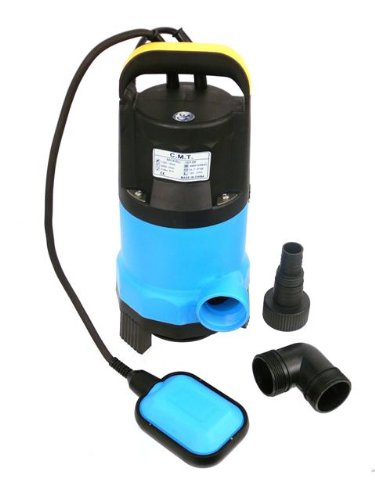 Drainage Sump Pump (1/2 Hp Dirty Water Submersible Pump with Float Switch by C.M.T. Industrial)