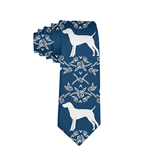 Gentleman Tie - German Shorthair Pointer Dog Necktie, Wedding Business Graduation Party Dress Ties ()