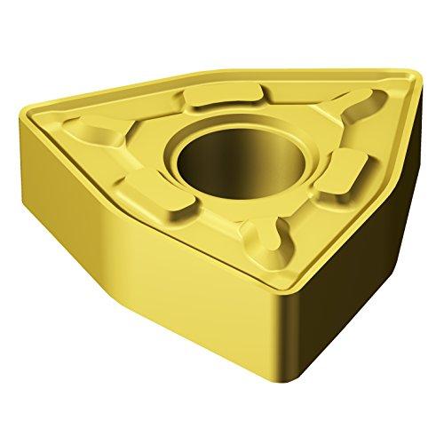 (Sandvik Coromant, WNMG 333-MRR 2015, T-Max P Insert for Turning, Carbide, Trigon, Neutral Cut, 2015 Grade, Ti(C,N)+Al2O3+TiN)