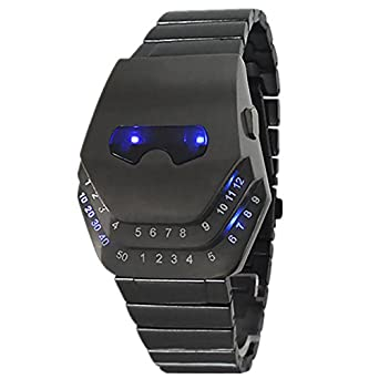 Schmuck uhren herren  LED Uhr Herren, Schmuck Uhren, Blue Ray Glas Quartz Analog Uhren ...