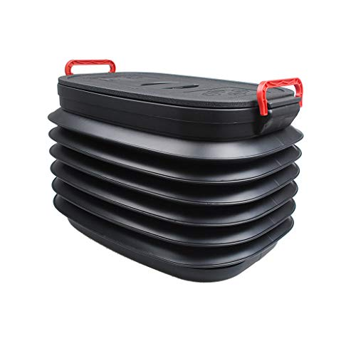 Folding Telescopic Car Storage Box with Lid, Car Trunk, used for sale  Delivered anywhere in Canada