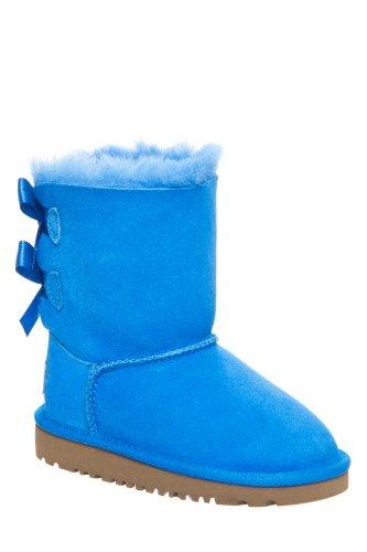 Decker UGG Australia Kids Bailey Bow Boots, Blue Sky, 6 M...