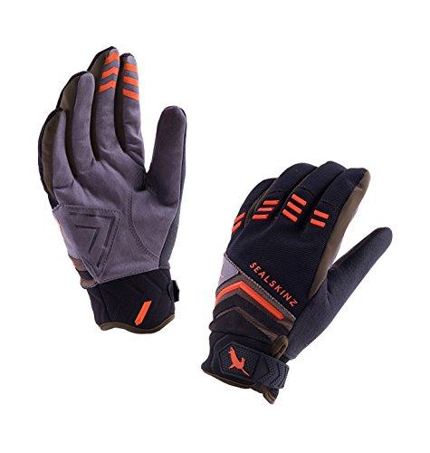 Dragon Eye Mtb Glove, Black/Dark Olive/Orange, Large ()