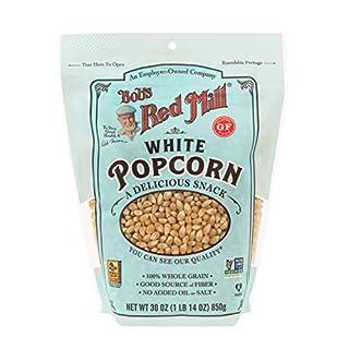 Bob's Red Mill Whole White Popcorn, 30 Oz