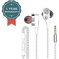 4D Bass Subwoofer Stereo Earphone in-Ear Earphones Wired Headphone Microphone Sport Running Earbuds