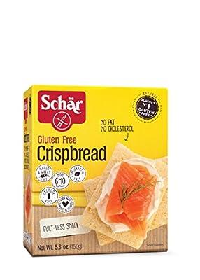 Schar Gluten Free Crispbread, 5.3 oz. Box, 6-Pack