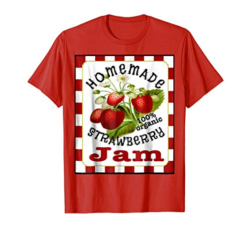 Cute Homemade Strawberry Jam Halloween Costume Shirt -