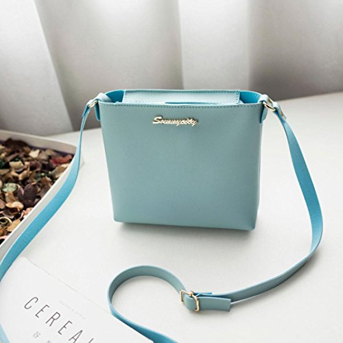 Clearance Fashion Shoulder Purse Bag Blue Coin Bag Bag Bag Women Messenger Phone Crossbody 44Bwpqr