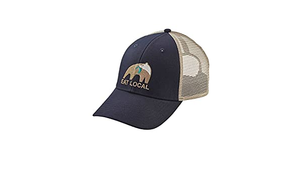 Patagonia Men s Eat Local Upstream LoPro Trucker Hat (Navy Blue ... 6429a0fa62b