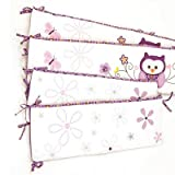Plum Owl Meadow Nursery Versatile Bumper by Baby's First by Nemcor