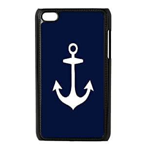 Printed Phone Case Nautical Anchor For Ipod Touch 4 Q5A2113503
