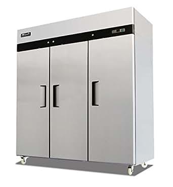 Amazon Com New Migali C3 F 3 Door Reach In Freezer