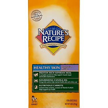 Nature's Recipe Dry Dog Food for Adult Dog, Healthy Skin Vegetarian Recipe, 15 Pound Bag, My Pet Supplies