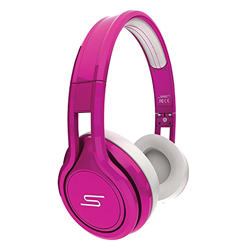 SMS Audio STREET by 50 Cent On Ear Headphones - Pink