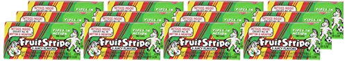 Fruit Stripe Bubble Gum, 1.8 Ounce Pack, 12 Count by Farley's (Image #1)