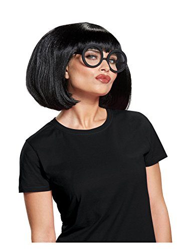 Disguise Women's Edna Costume Kit, Black, One Size Adult -