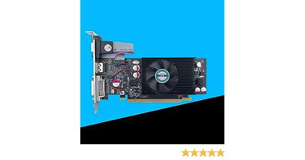 Eleganantimpresionante Geforce - Tarjeta gráfica de vídeo GT610, DDR2 de 1 GB para PC y LP Case