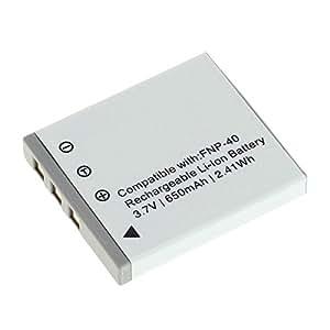 D-LI8 D-LI85 Batería para Pentax Optio A10 / A20 / A30 / A36 / A40 / L20 / S / S4 / S4i / S5i / S5n / S5z / S6 / S7 / SV / SVi / T10 / T20 / W10 / W20 / WP / WPi / X (750mAh)