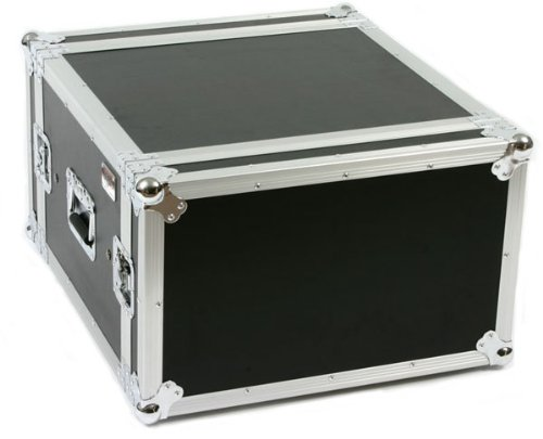 6 Space (6U) ATA Rack Amp Road Shock Mount Case (20