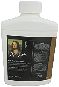 Mona Lisa Odorless Paint Thinner-16 ounce