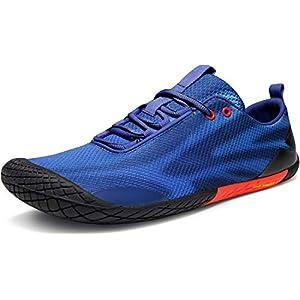 TSLA Men's Trail Running Minimalist Barefoot Shoe 16