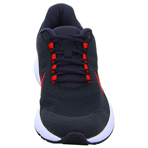NIKE Red Homme Oil Basses Multicolore 001 Runallday White University Grey Sneakers Black tq8BX8r