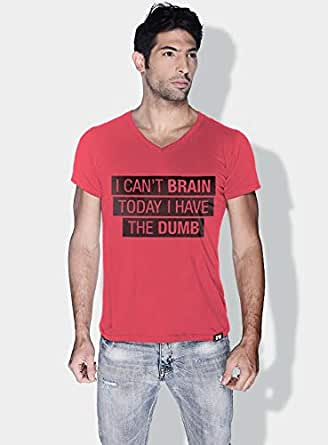 Creo I Cant Brain Today Funny T-Shirts For Men - S, Pink