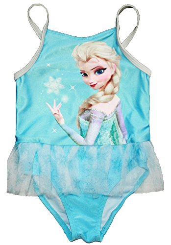 Disney Frozen Little Girls Elsa One Piece Swimsuit (2T)