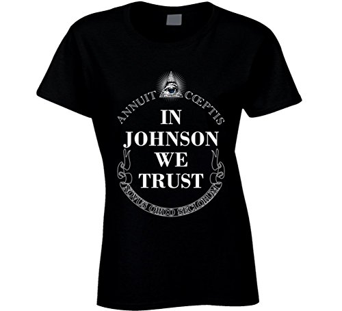 In Ashleigh Johnson We Trust 2016 Olympics Water Polo Ladies T Shirt 2XL - Polo In Olympics