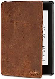 Capa de couro premium para Kindle Paperwhite (10ª Geração não compatível com as versões anteriores do Kindle P