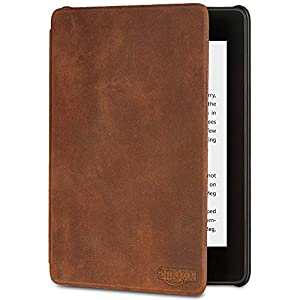 All-new Kindle Paperwhite Premium Leather Cover (10th Generation-2018), Rustic eBook Readers and Accessories
